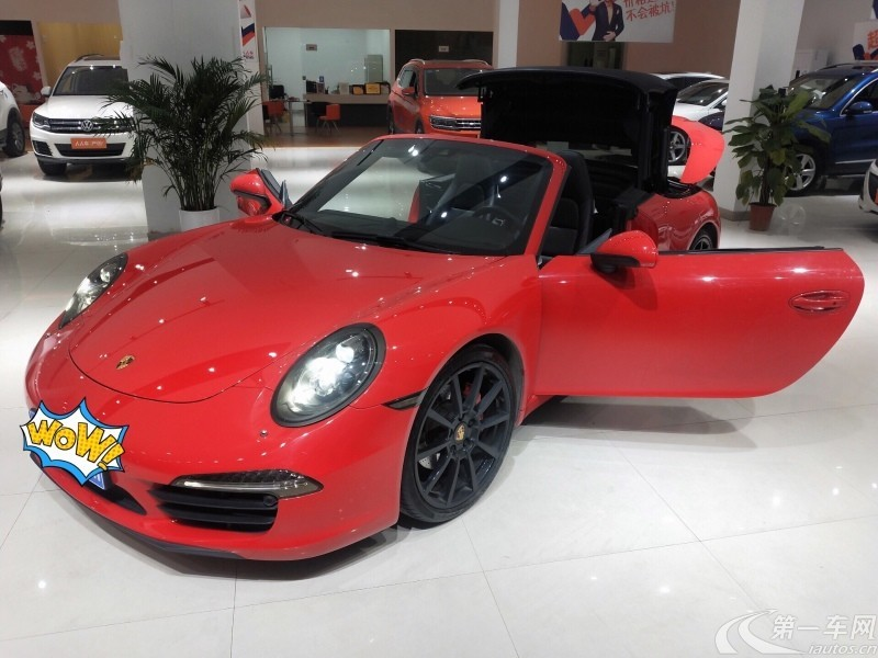 保时捷911 [进口] 2016款 4.0L 自动 GT3-RS美规版平行进口