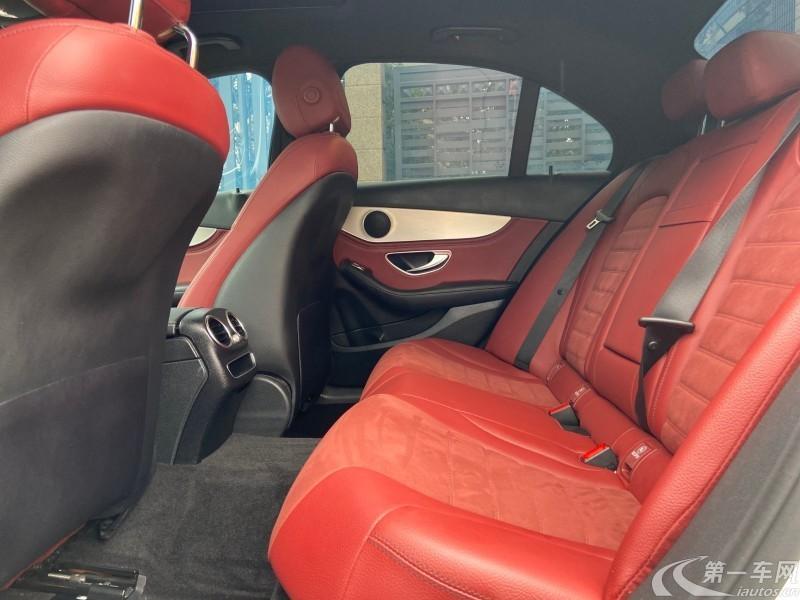 奔驰C级 C260 2019款 1.5T 自动 运动版 (国Ⅴ)