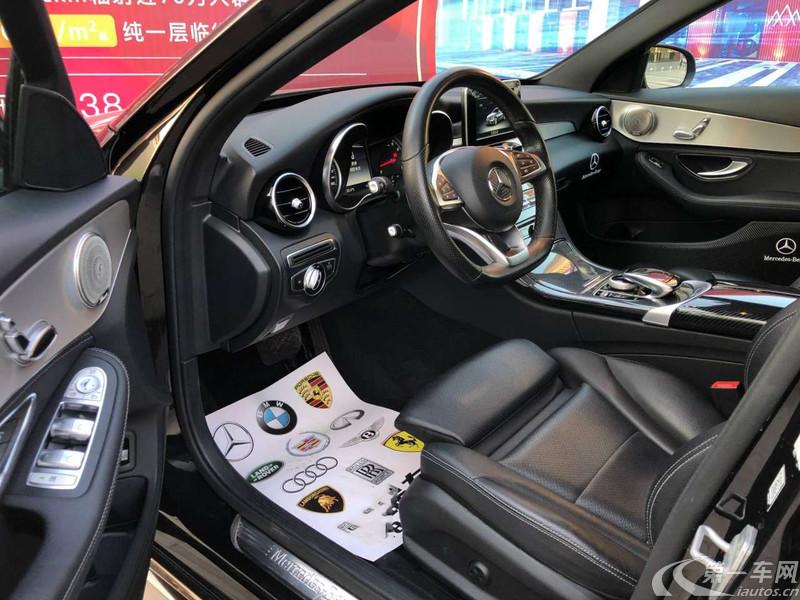 奔驰C级 C200 2015款 2.0T 自动 运动版 (国Ⅴ)