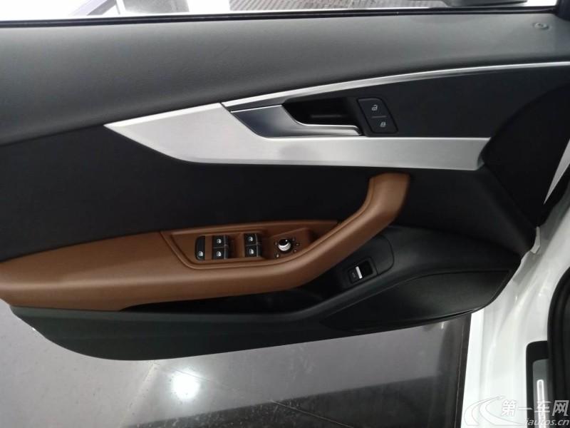 奥迪A4L 2019款 2.0T 自动 时尚型 (国Ⅴ)